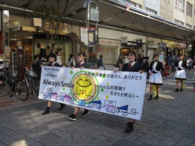 医療従事者や商店街を応援するプロジェクト