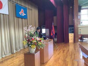卒業式 開式の辞